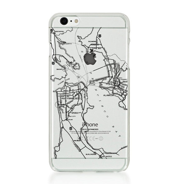 City Pack Case for iPhone 6s Plus / 6 Plus - Bay Area - Elemental Cases