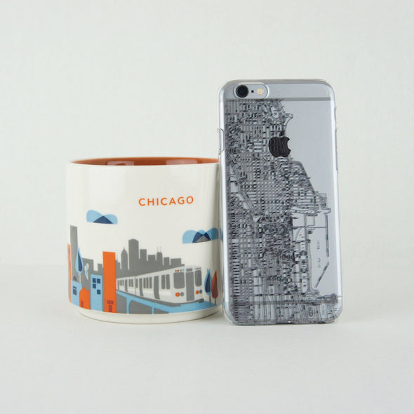 City Pack Case for iPhone 6s Plus / 6 Plus - Chicago - Elemental Cases