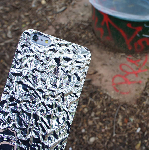 Crystalline Case for iPhone 6s / 6 - Silver - Elemental Cases