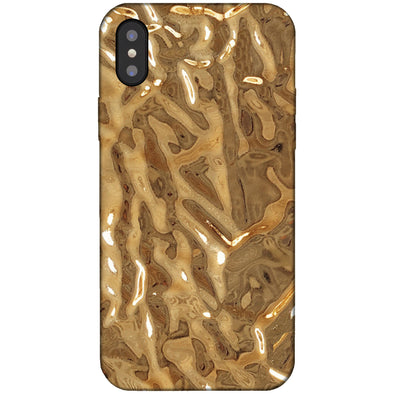 iPhone XS Max Crystalline Case - Gold
