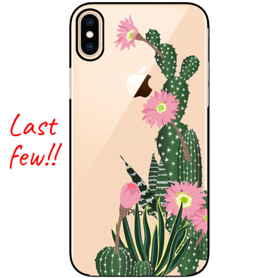 iPhone XS / X Case - Desert Blossom