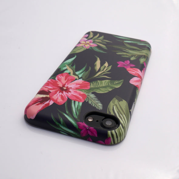 Floral Case for iPhone 8 / 7 - Pink Azalea - Elemental Cases