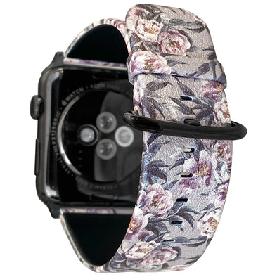 40mm & 38mm Vegan Leather Apple Watch Band - Hushed Violet