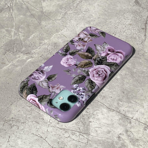 iPhone 11 / XR Case - Faded Rose-Elemental Cases