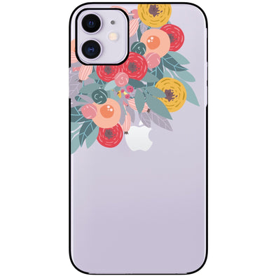 iPhone 11 / XR Case - Flower Burst-Elemental Cases
