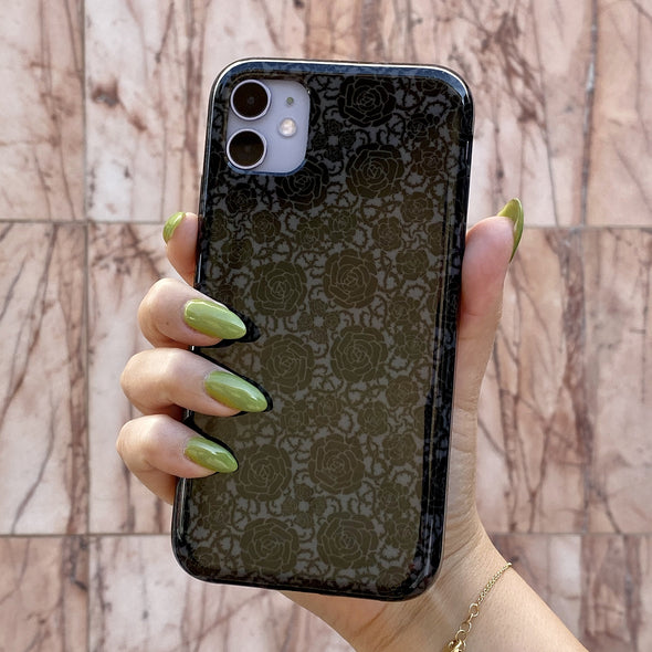 iPhone 11 / XR Case - Goth Rose-Elemental Cases