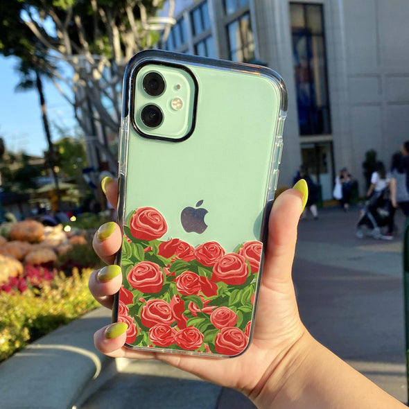 iPhone 11 / XR Case - Rose Bush-Elemental Cases