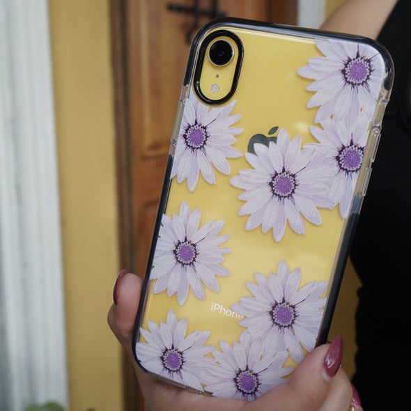 iPhone XR Case - Purple Daisy - Elemental Cases