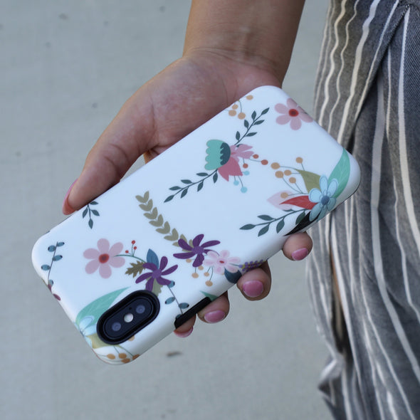 iPhone XS Max Case - Hollyhock - Elemental Cases