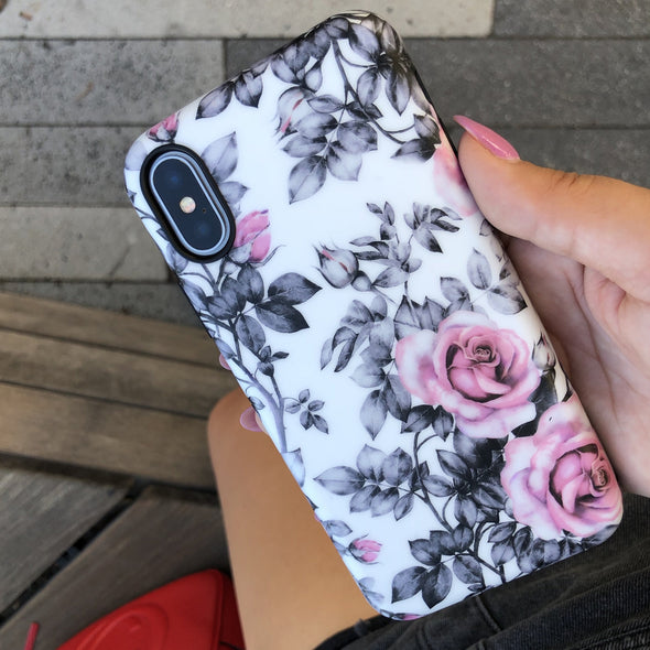 iPhone XS / X Case - Chateau Rose - Elemental Cases