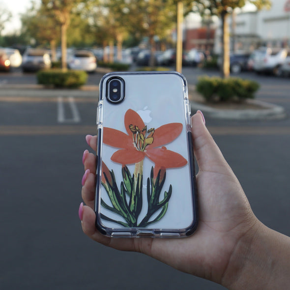 iPhone XS / X Case - Daylily - Elemental Cases