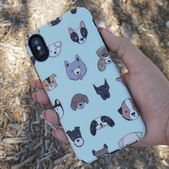 iPhone XS / X Case - Doggos - Elemental Cases