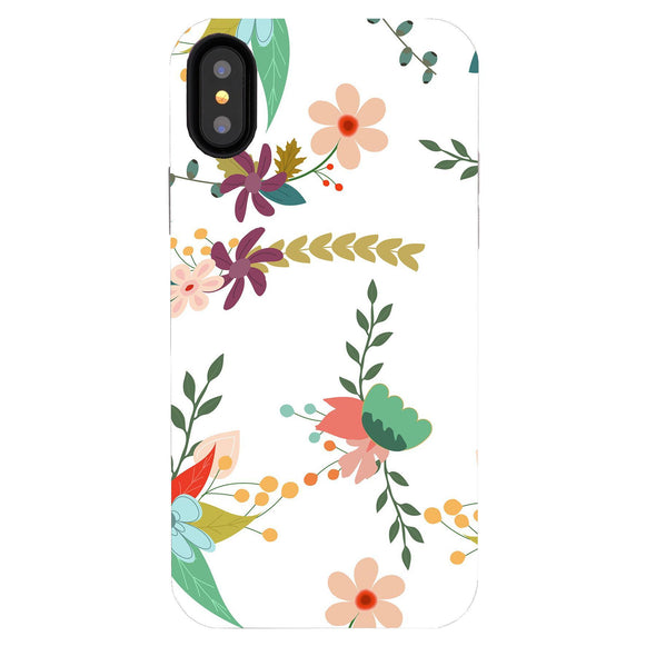 iPhone XS / X Case - Hollyhock - Elemental Cases