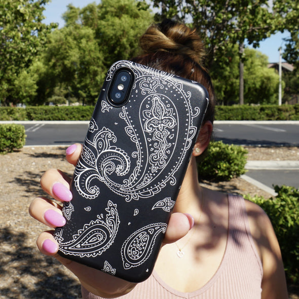 iPhone XS / X Case - Paisley - Elemental Cases
