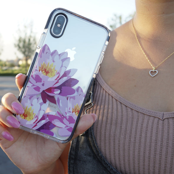 iPhone XS / X Case - Water Lily - Elemental Cases
