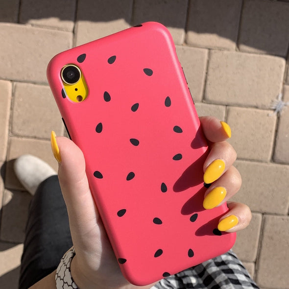iPhone XS / X Case - Watermelon - Elemental Cases