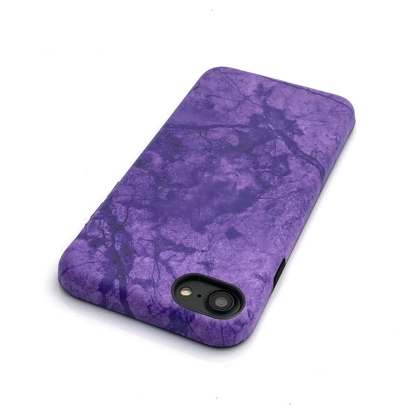 Marble Case for iPhone 8 / 7 - Crushed Violet - Elemental Cases