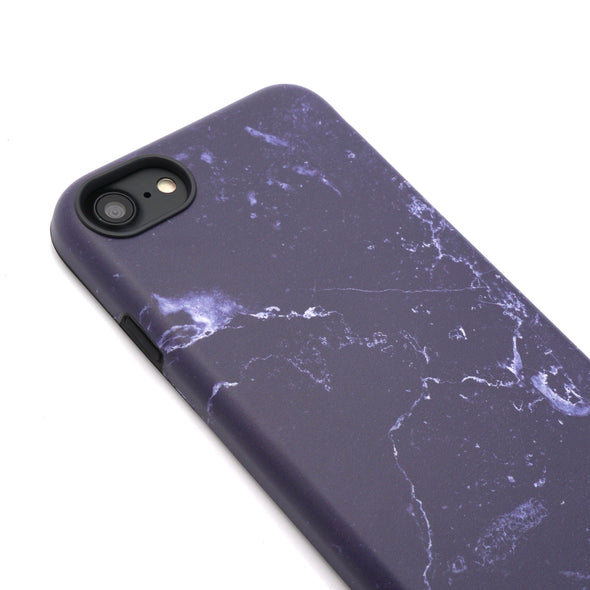 Marble Case for iPhone 8 / 7 - Denim - Elemental Cases
