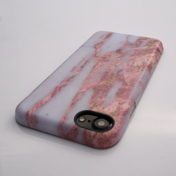Marble Case for iPhone 8 / 7 - Dusted Rose - Elemental Cases