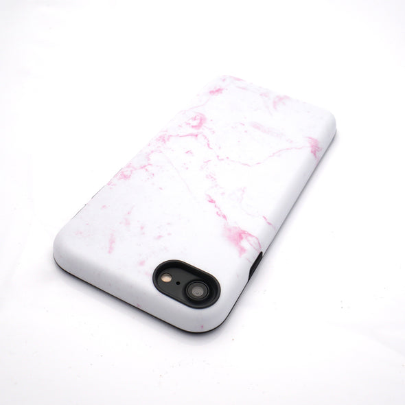 Marble Case for iPhone 8 / 7 - Dusty Pink - Elemental Cases