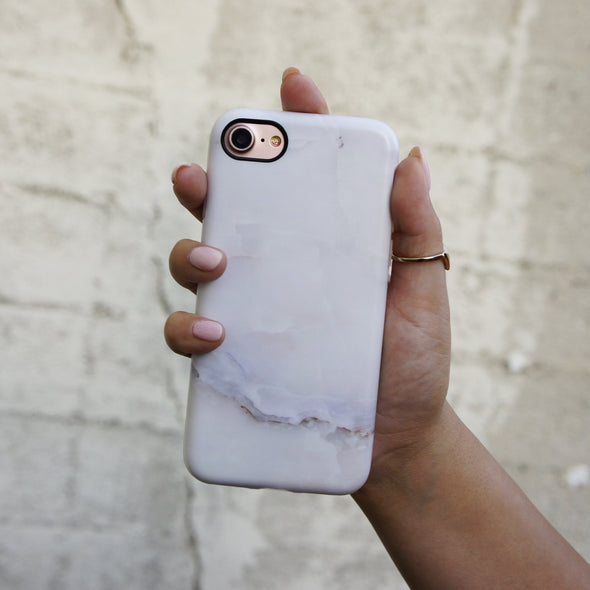 Marble Case for iPhone 8 / 7 - Ivory White - Elemental Cases