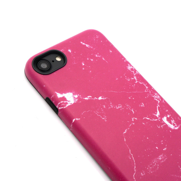 Marble Case for iPhone 8 / 7 - Raspberry - Elemental Cases