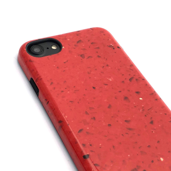 Marble Case for iPhone 8 / 7 - Tango Red - Elemental Cases