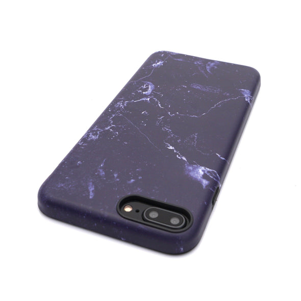 Marble Case for iPhone 8 Plus / 7 Plus - Denim - Elemental Cases