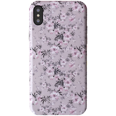 iPhone XS / X Case - Sheer Floral