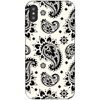 iPhone XS Max Case - Sun Paisley