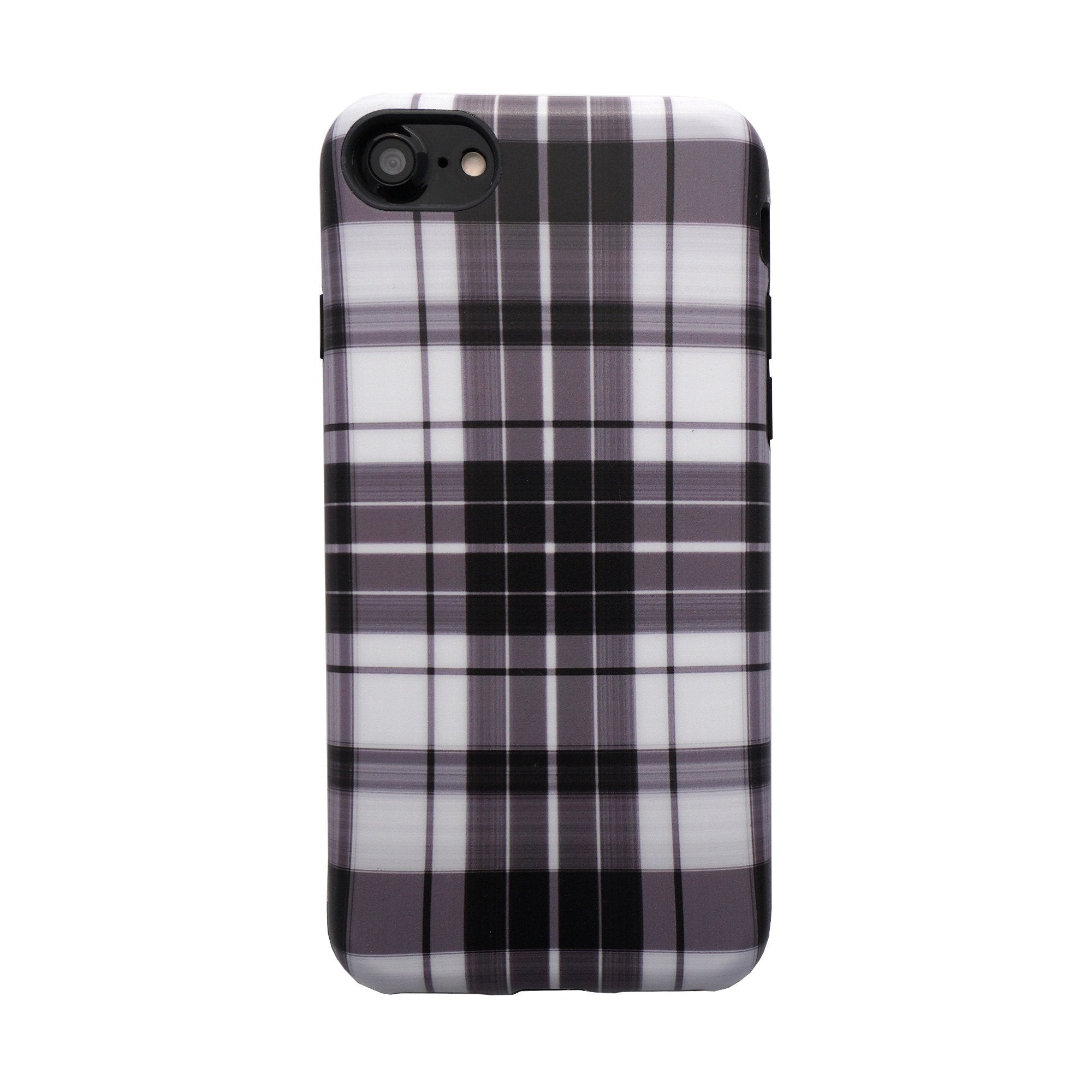 best sneakers c24ea f8cb8 Plaid Case for iPhone 8 / 7 White