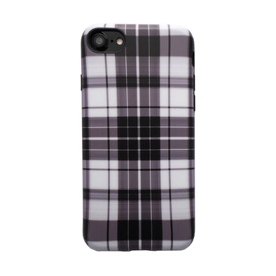 Plaid Case for iPhone 8 / 7 White
