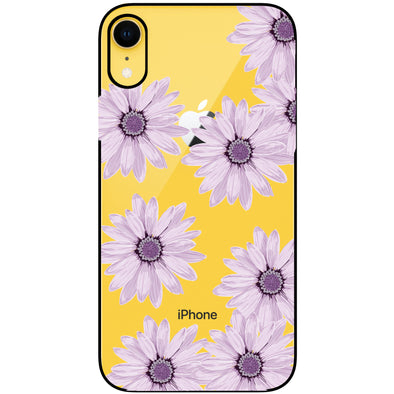 iPhone XR Case - Purple Daisy