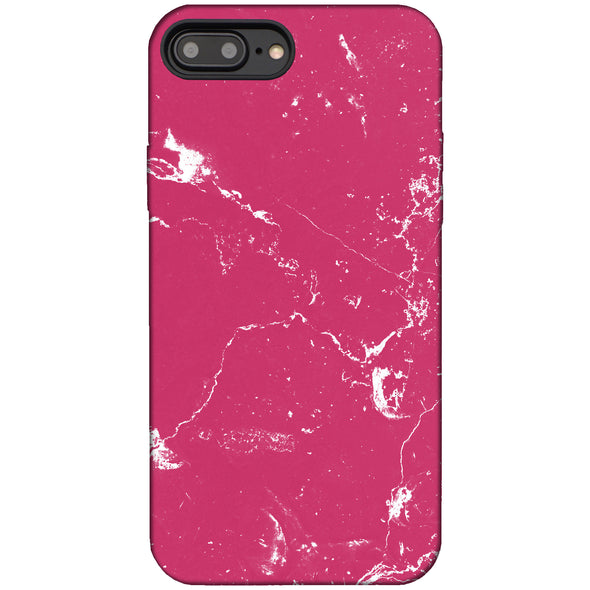 Marble Case for iPhone 8 Plus / 7 Plus - Raspberry