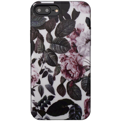 Floral Case for iPhone 8 Plus / 7 Plus - Shadow Blossom