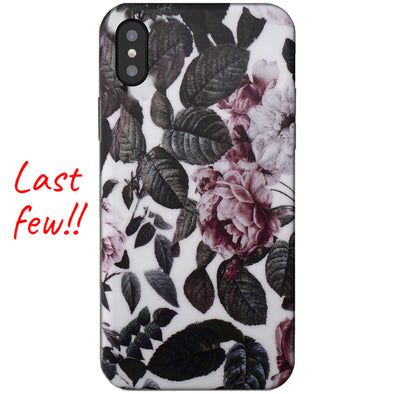 iPhone XS Max Case - Shadow Blossom
