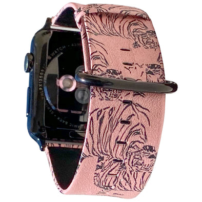 40mm & 38mm Vegan Leather Apple Watch Band - Tigress