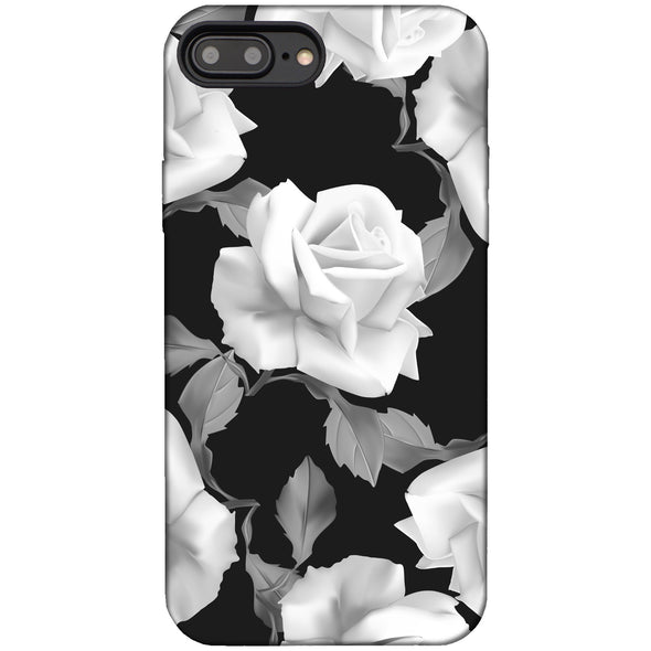 iPhone 8 Plus / 7 Plus Case - White Rose