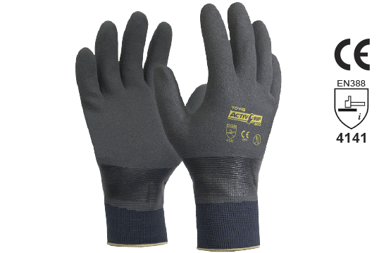 Work Gloves Heavy Duty Nitile Full Dip Activegrip Best Trade Tools