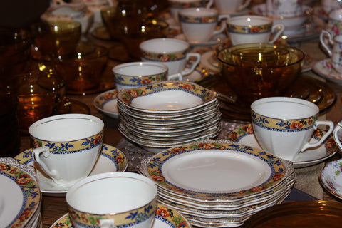 Bone China, Porcelain &  Ironstone