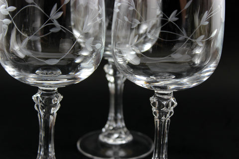Crystal Glasses and Stemware