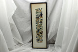 Antique Chinese Silk Embroidered Tapestry