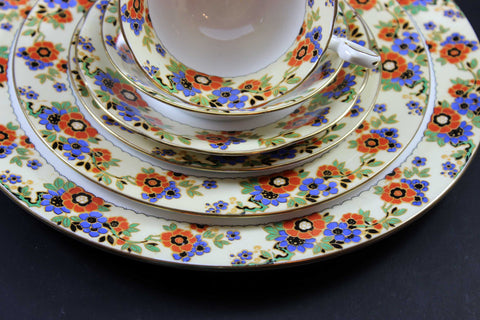 Aynsley Fine Bone China, Romany Pattern