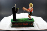 Cast-Iron replica novelty basketball bank