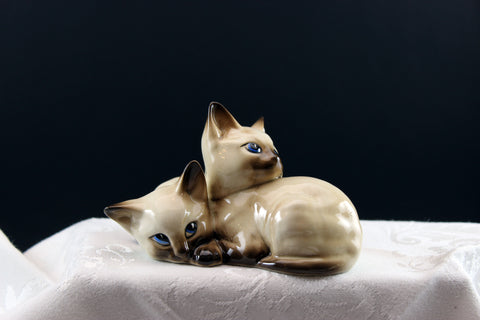 Beswick Siamese kittens. 1296. Dated 1970's