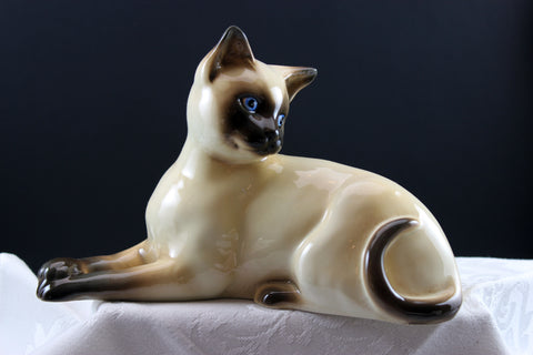 Beswick Siamese cat 1558. Dated 1970's