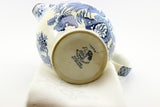 "Blue and White ""Juan"" Wood and Sons Ltd., England. Small pitcher. Circa 1930's."