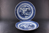 Chinese Export Canton Antique Plates (2)