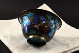 Antique Chinese Enamel and Metal Bowl