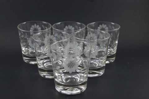 Hughes Cornflower Crystal Highball Tumblers (6)